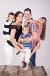 családi fotózás, gyerek fotózás, stúdió fotózás